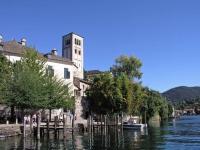 Orta San Giulio, Blick auf die Insel