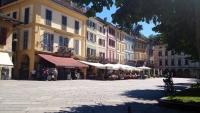 Orta San Giulio, Marktplatz