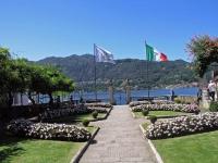 Orta San Giulio, Garten der  Stadtverwaltung