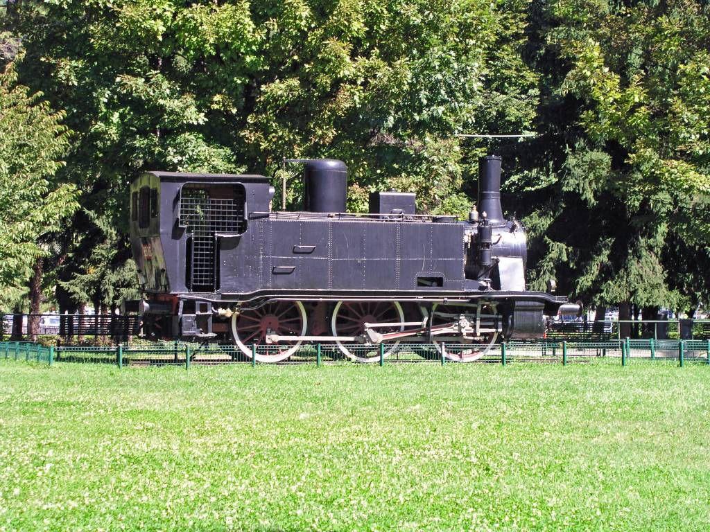 Como, alte Lokomotive