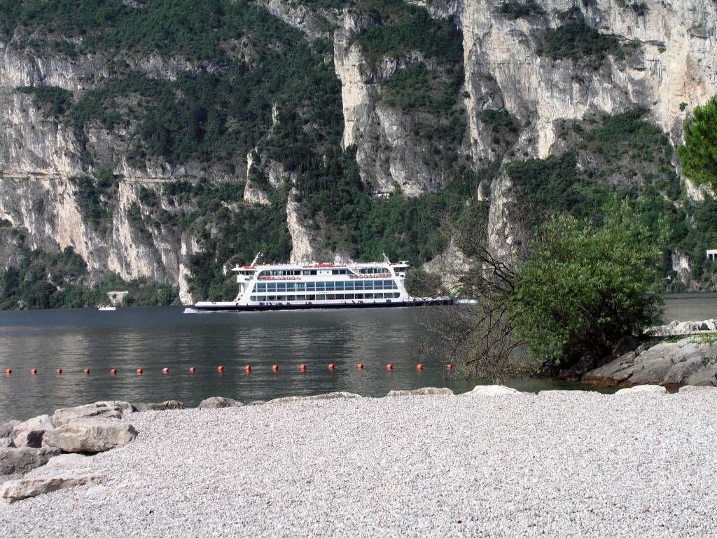 Riva del Garda, Ufer Gardasee
