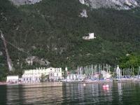Riva del Garda, Blick auf die Festung