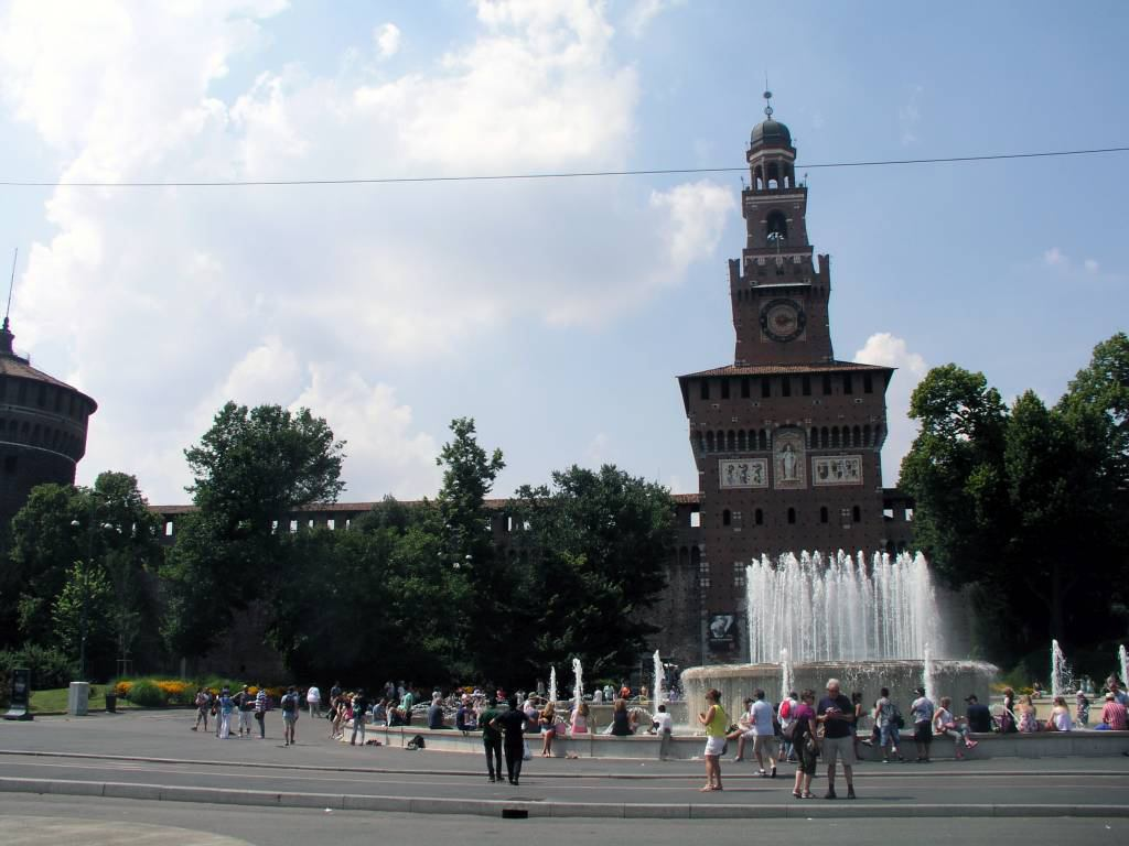 Mailand, Castello Sforzesco