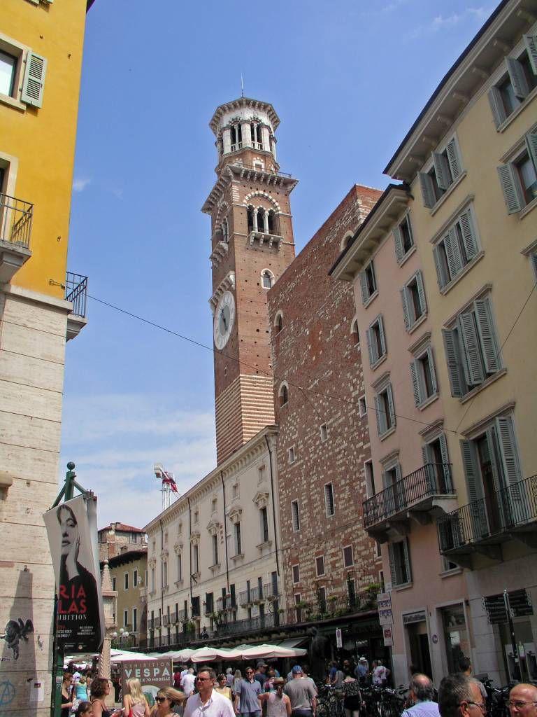 Verona, Turm des Palazzo della Ragione