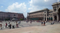 Mailand, Domplatz, Galleria Vittorio Emanuele II