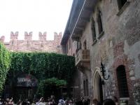 "Verona, angeblich der ""berühmte"" Balkon"