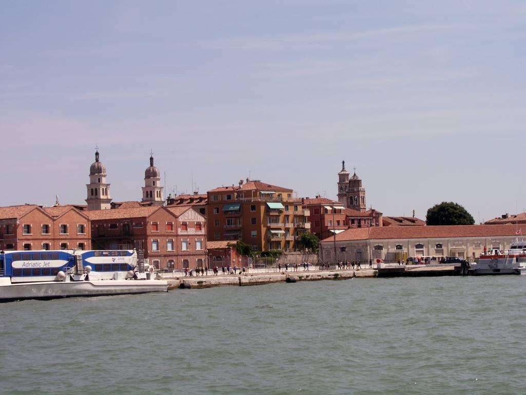 Venedig, Blick in Richtung der Kirchen San Sebastiano und Santa Maria del Rosario