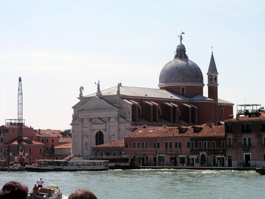 Venedig, Blick auf die Kirche Santa Maria della Salute