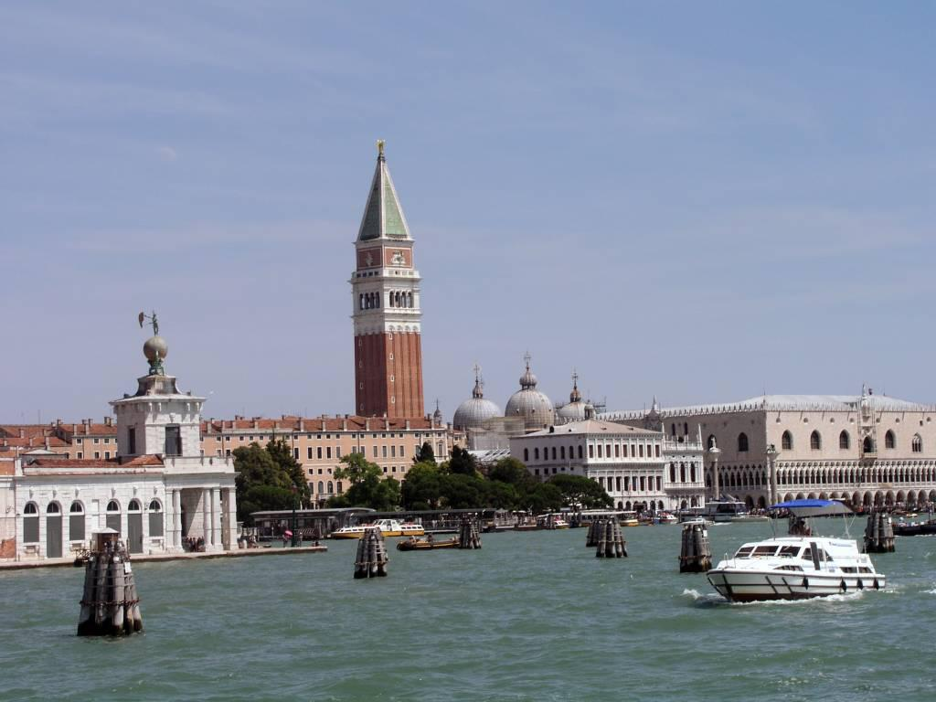 Venedig, Blick Richtung Dogenpalast und Markusplatz