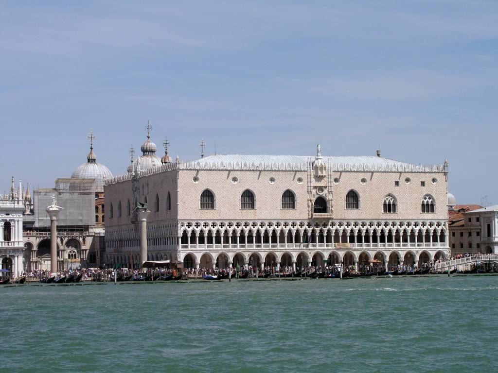 Venedig, Blick auf den Dogenpalast
