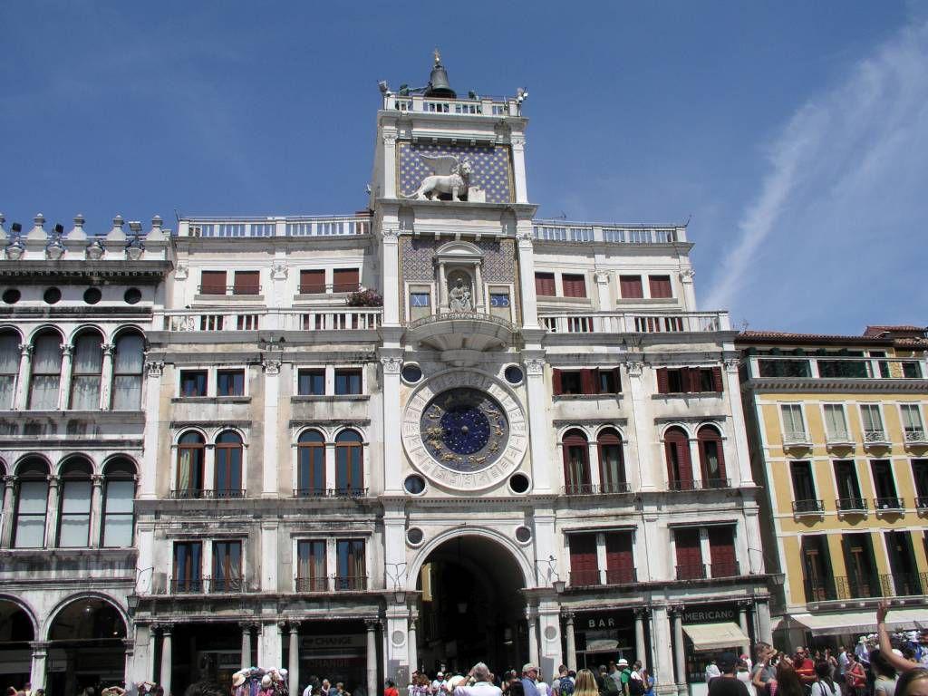 Venedig, Blick auf den Markusplatz