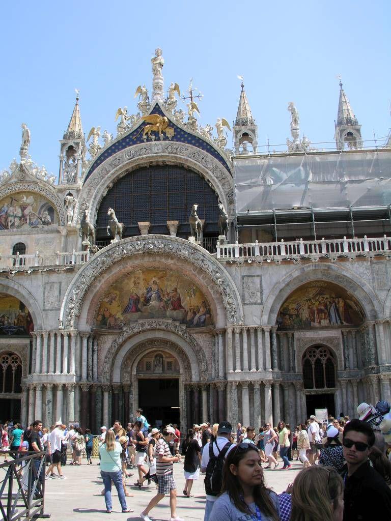 Venedig, Blick auf den Markusdom
