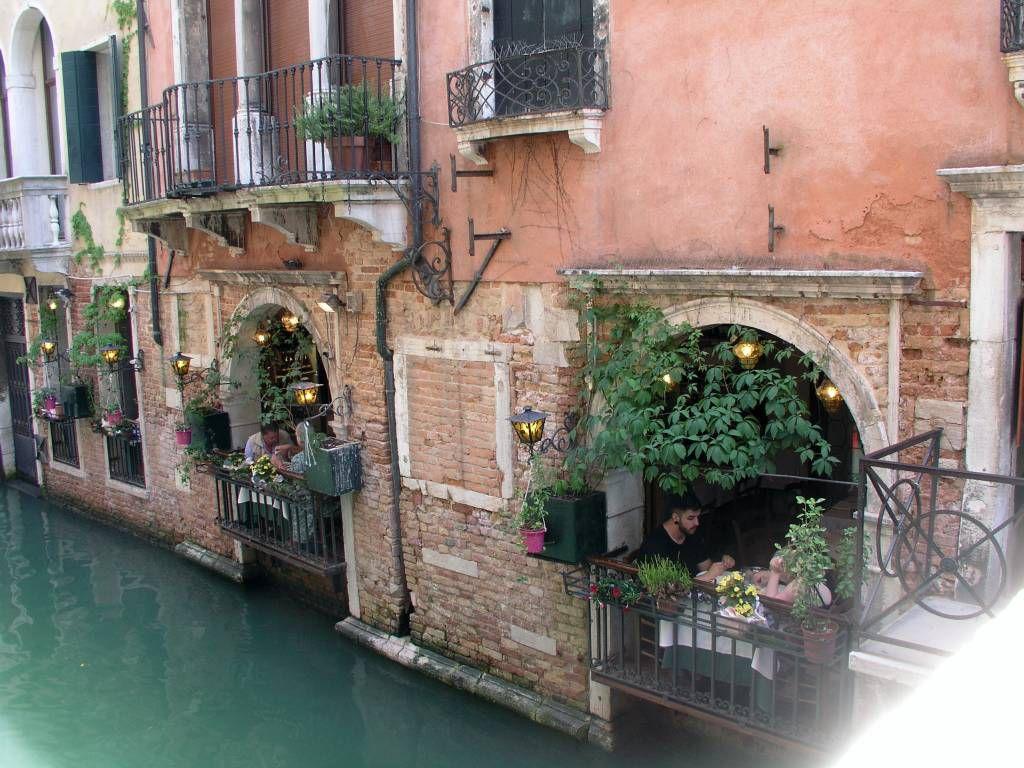 Venedig, an einem der vielen Kanäle
