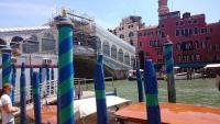 Venedig, Canale Grande, Rialto Brücke