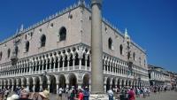 Venedig, Blick auf den Markusplatz und den Dogenpalast