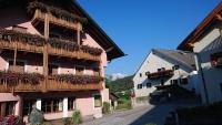 Schabs, Hotel Am Brunnen, Straßenfront