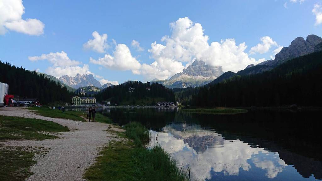Misurina, am Misurinasee