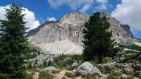 Am Falzarego Pass