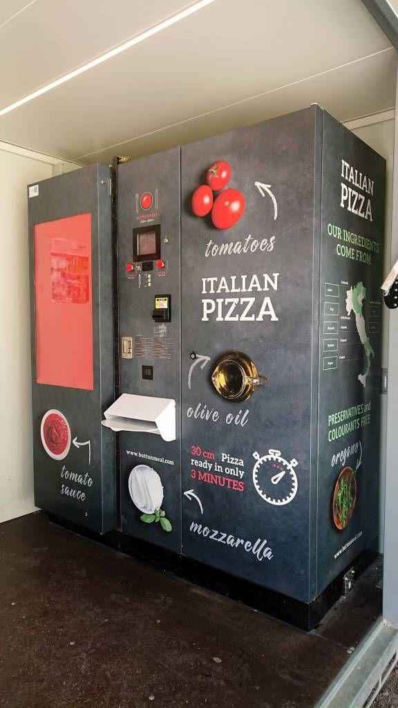 Pizzaautomat am Issinger Weiher