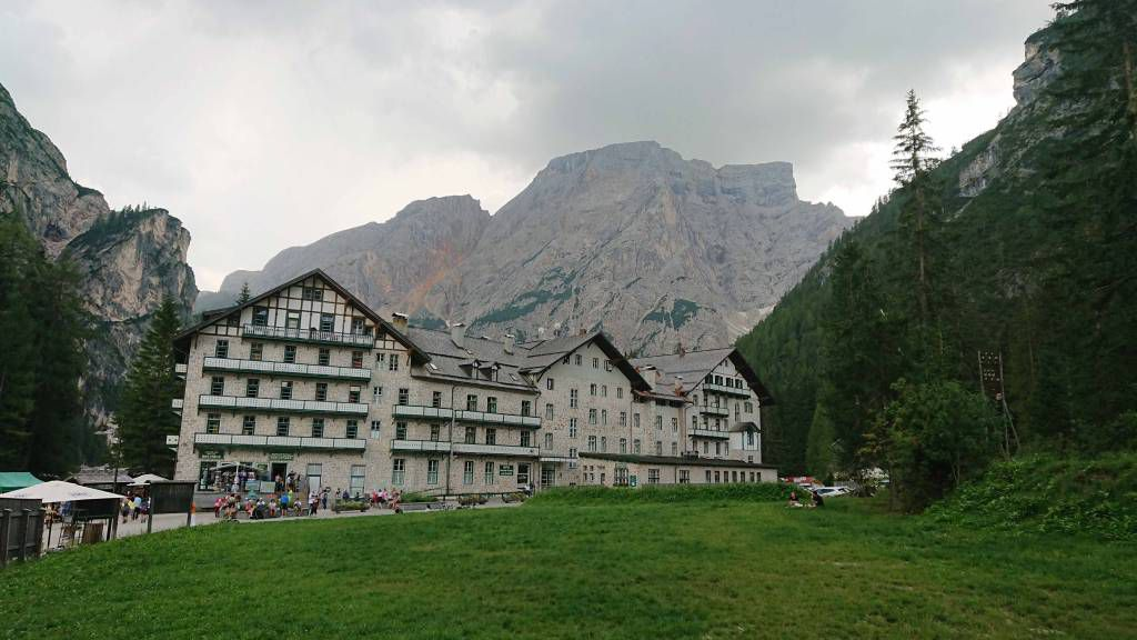 Oberhaus, am Pragser Wildsee