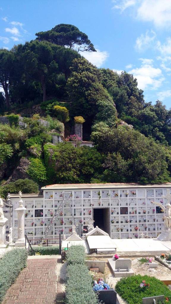 Portofino, Friedhof der San Giorgio Kirche