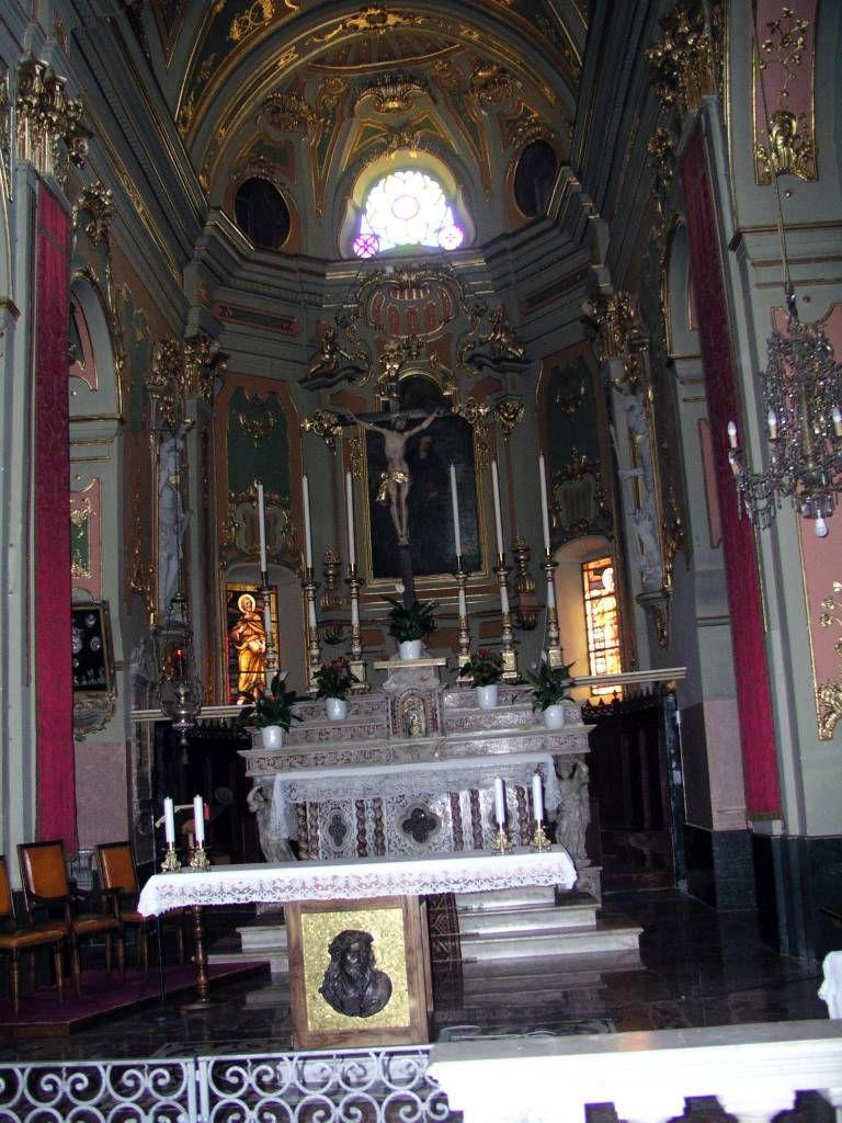 Ligurien, Dolceacqua, Kirche Sant'Antonio Abate