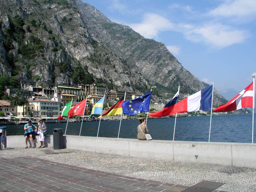 Limone sul Garda, Uferpromenade