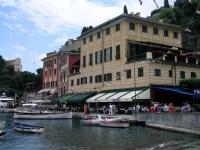 Portofino, am Hafen