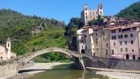 Ligurien, Dolceacqua, Ponte Vecchio