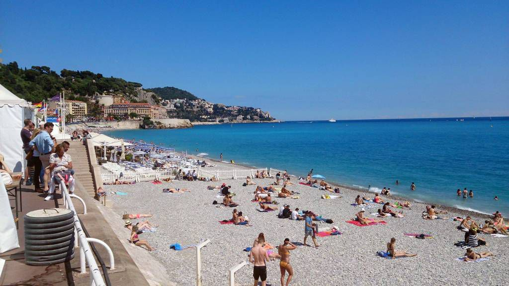 Nizza, Strand