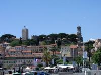 Cannes, Aussicht vom Hafen