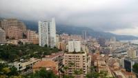 Monaco, Monte Carlo, Blick vom Botanischen Garten