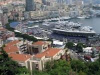 Monaco, vor dem Fürstenpalast, Aussicht