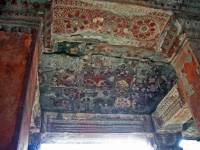 Siem Reap, Angkor Wat Tempel, Deckenverzierung
