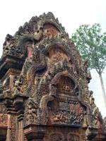 Siem Reap, Banteay Srei Tempel