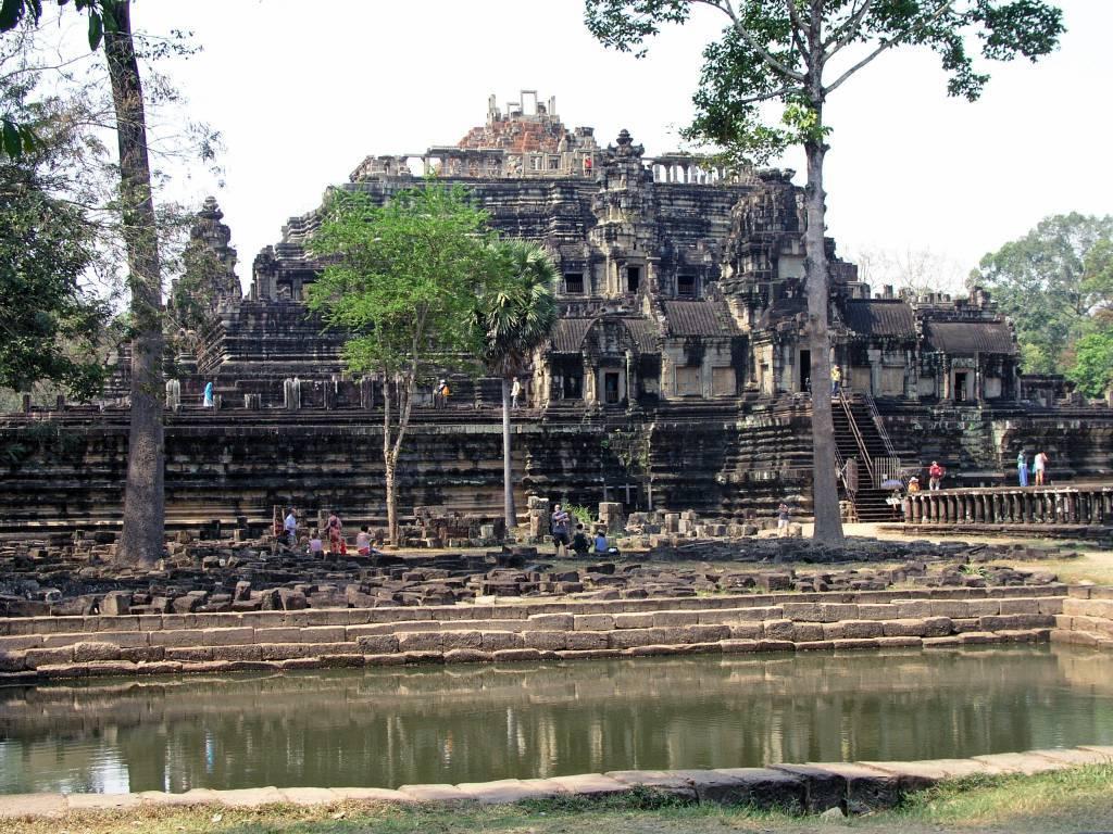 Siem Reap, Angkor Thom, Bayon Tempel