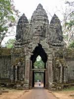 Siem Reap, Angkor Thom, Nordtor