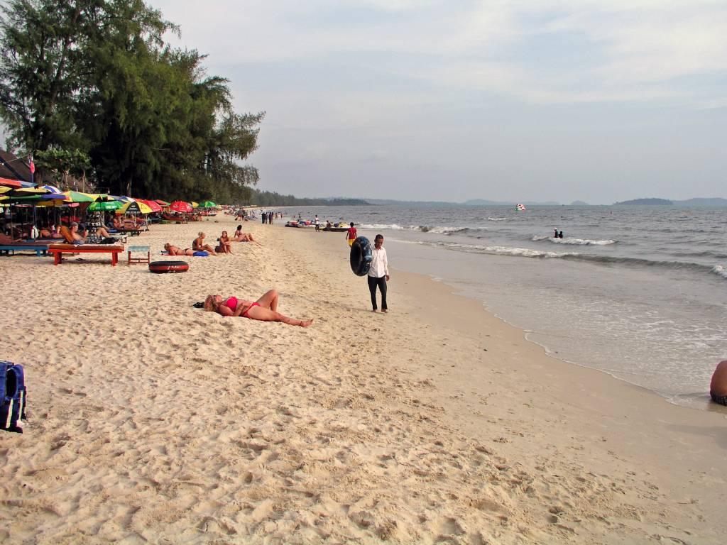Sihanoukville, Strand