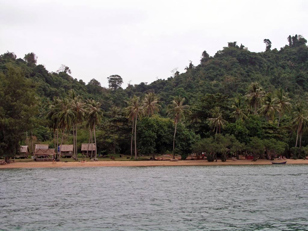 Kaoh Tonsay, Rabbit Island, Strand