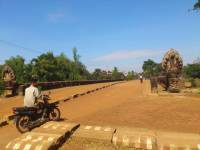 Siem Reap, Khmer Brücke, Preah Toes Brücke