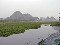 Kampot, Landschaft kurz vor der vietnamesichen Grenze