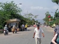 Grenzübergang Kamboscha - Vietnam von vietnamesischer Seite