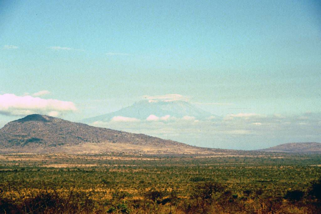 Tsavo West Nationalpark, Kilimandscharo