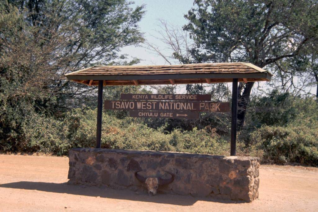 Tsavo West Nationalpark, Chyulu Gate