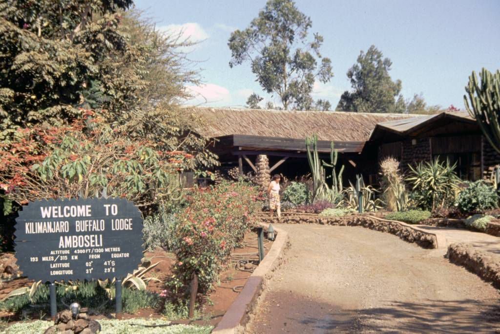 Amboseli Nationalpark, Kilamjaro Buffalo Lodge