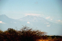 Tsavo West Nationalpark, Kilimandscharo