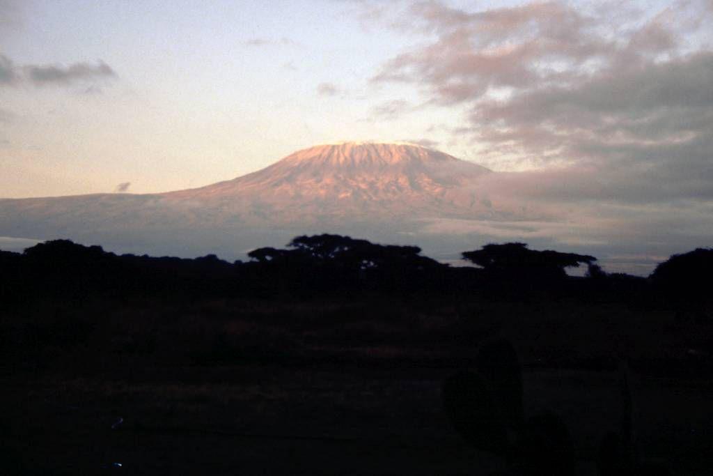 Amboseli Nationalpark, Kilimandscharo