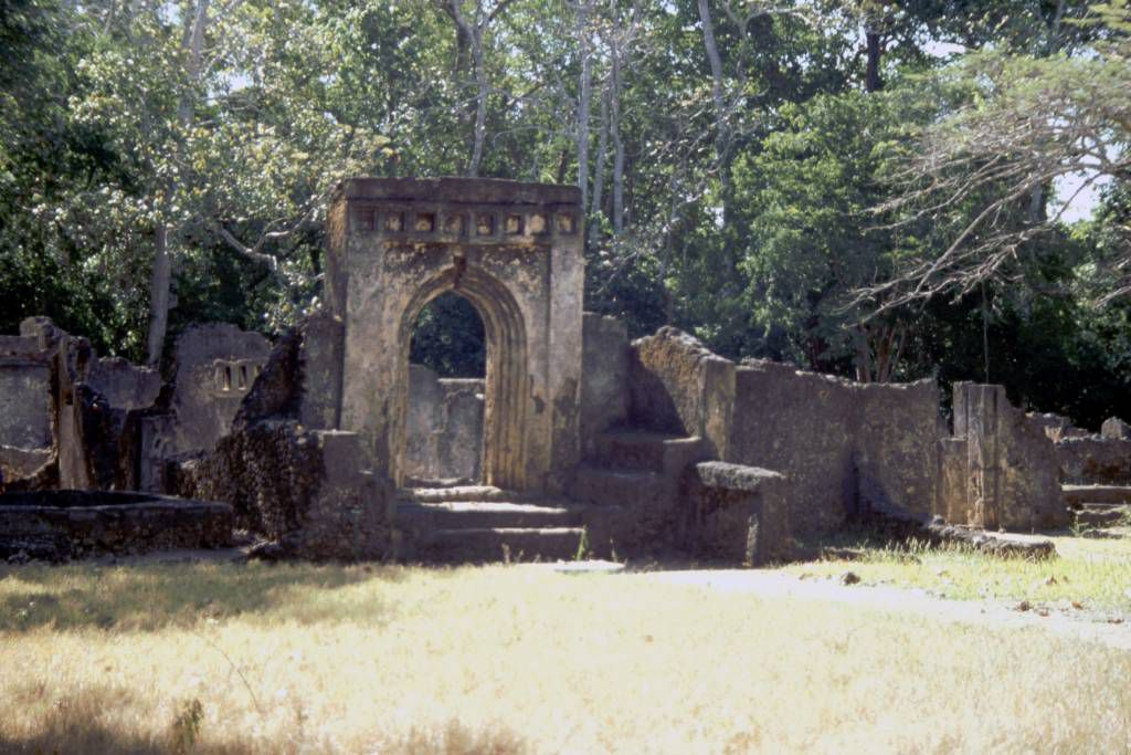 Gede, Ruinen