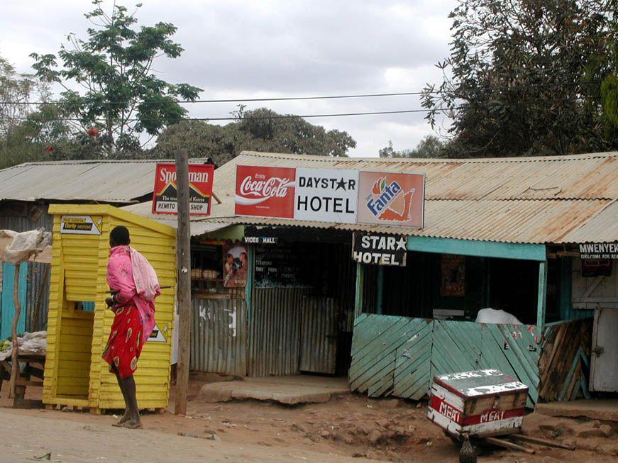 Szene in Namanga