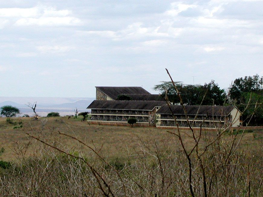 Die Kilaguni Lodge